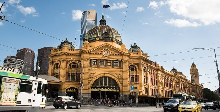 Melbourne City Tours - Flinders St