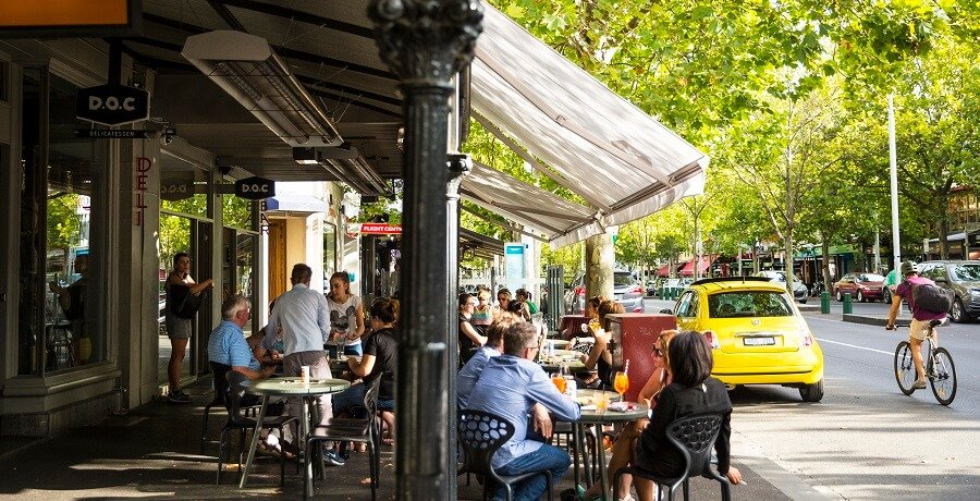 Melbourne City Tours Lygon St