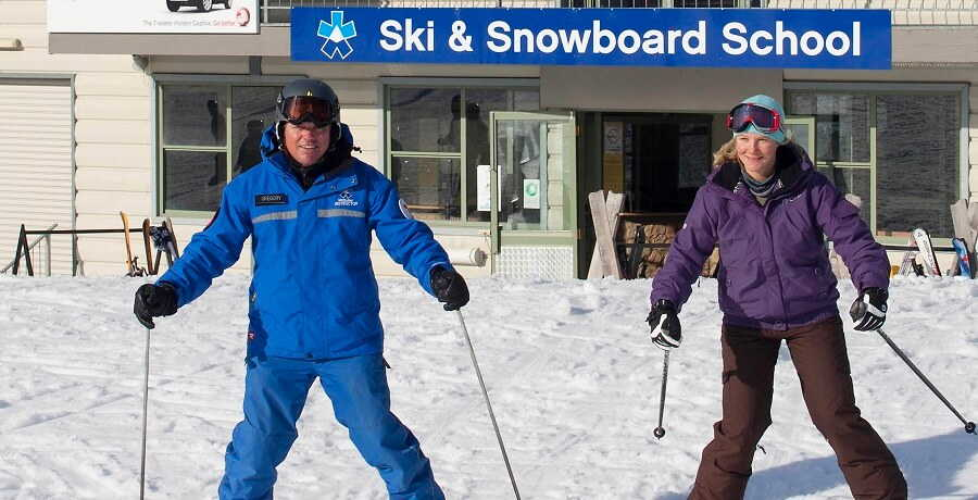 Melbourne Snow Tours Mount Buller Ski Lesson