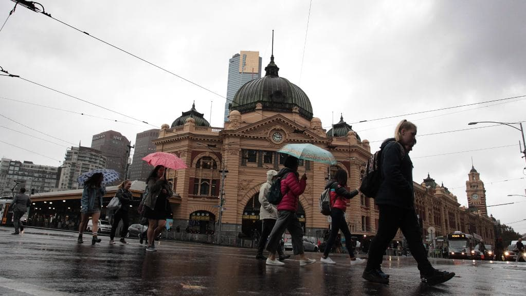 What is winter like in Melbourne Australia?
