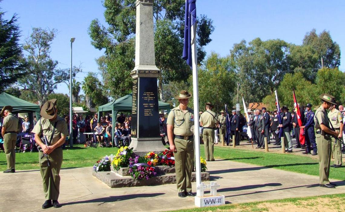 Who created Anzac Day?
