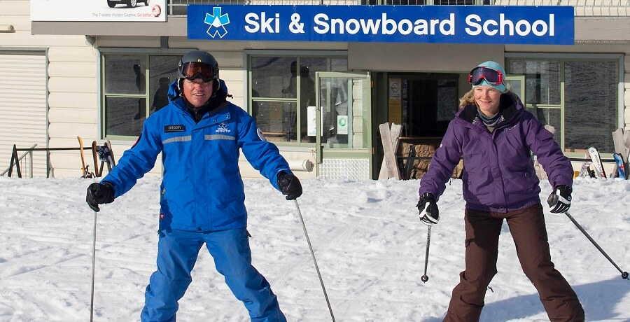 mount buller ski lesson