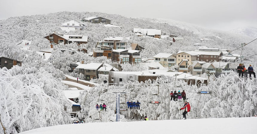Mount Buller return on a different day tour - accommodation